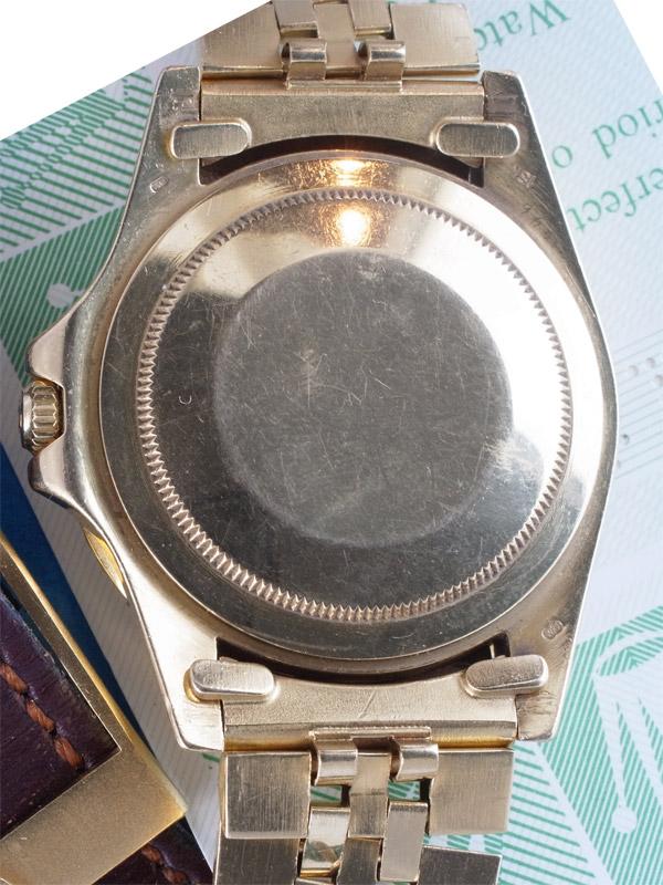 ROLEX 18K.オイスターパーペチュアル「GMT−MASTER」BOX,保証書、説明書付き
