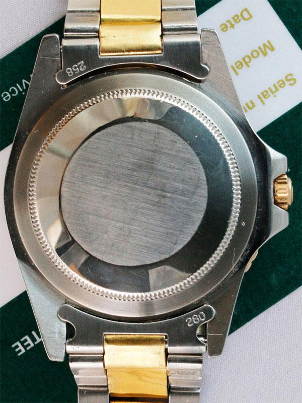 ROLEX SS/14Kオイスタ−パ−ペチュアル「GMT−MASTER」日本ロレックス修理国際保証書付き