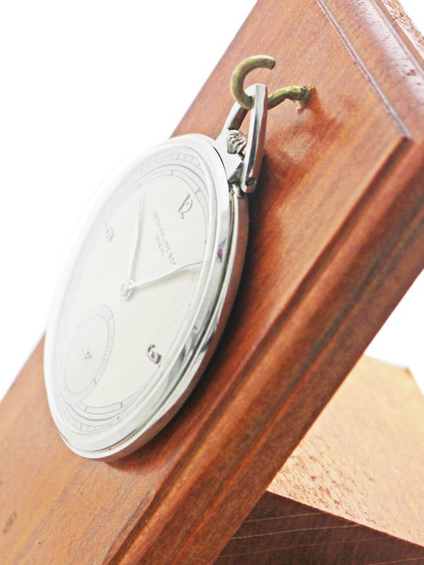 PATEK PHILIPPE & Co.Pt 950 ケース懐中時計