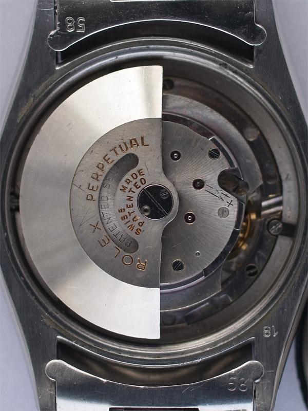ROLEX SS オイスターパーペチュアル「TURN−0−GRAPH」ミラーサークルダイヤル