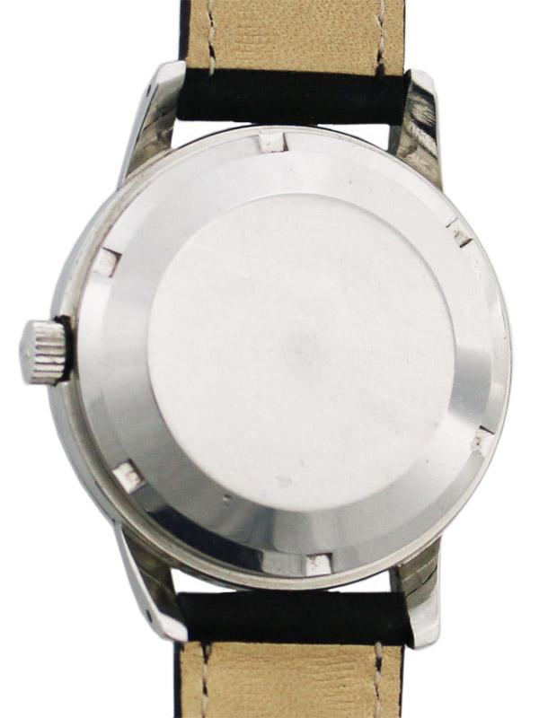 International Watch Co. SSスクリューバックラウンドケースオートマチック「INGENIUER」ブラックミラーダイヤル