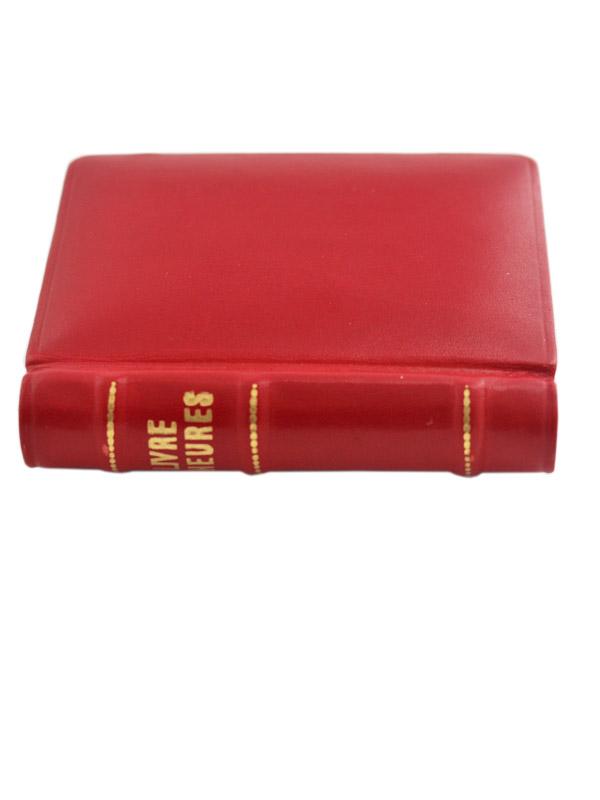 JUVENIA G.F.レクタングラーケース BOOK型トラベルクロック