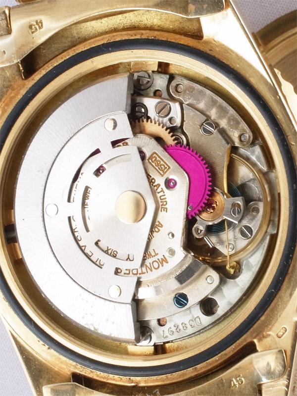 ROLEX 18K.オイスターパーペチュアル「GMT−MASTER」ノンクラウンガード初期型モデル