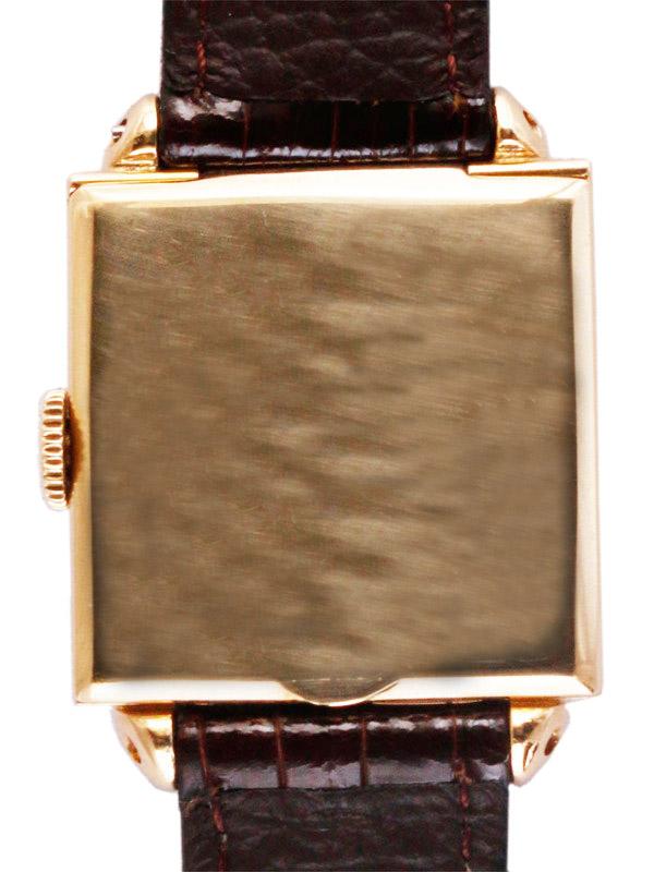 International Watch Co.14K スナップバックフーテッドスクエアケース 紳士用手巻き