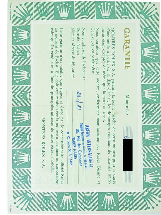 ROLEX SS オイスターコスモグラフ「DAYTONA」BOX,保証書、説明書、タグ付き