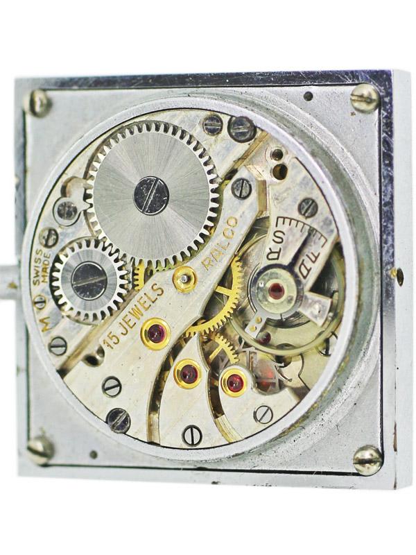 HERMES SS/ネイビーレザーケースブック型 トラベルクロック