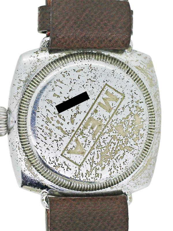 OYSTER WATCH Co.ベースメタルクロームメッキクッションオイスターケース 紳士用手巻き