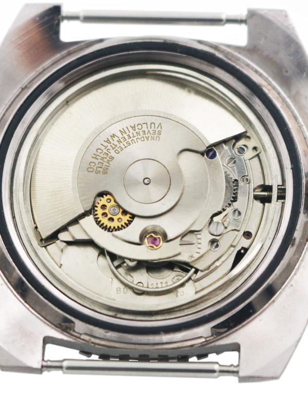 VULCAIN SSスクリューバックトノー型ケースオートマチックダイバーモデル