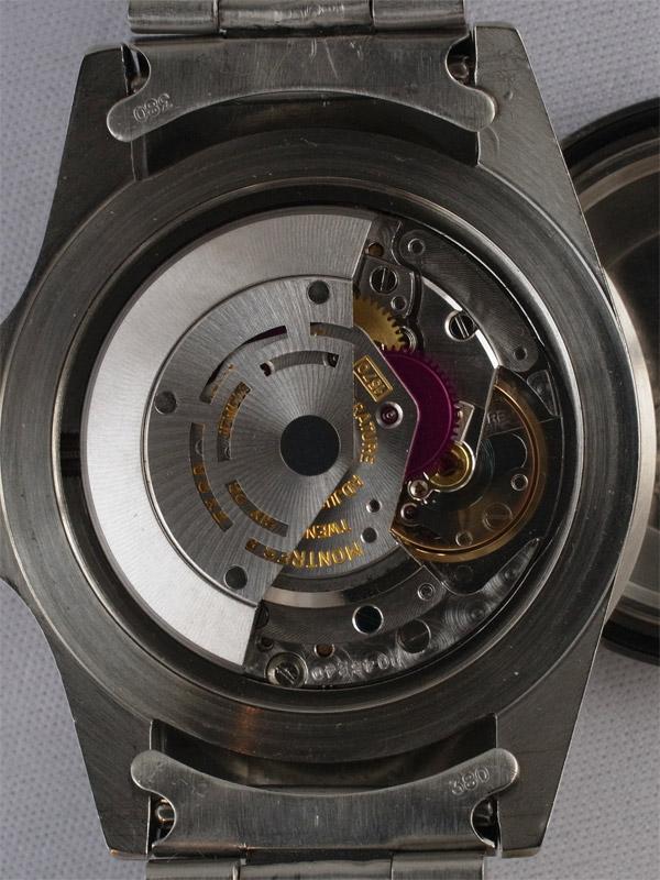 ROLEX SS オイスターパーペチュアルデイト「SUBMARINER」レッドプリント