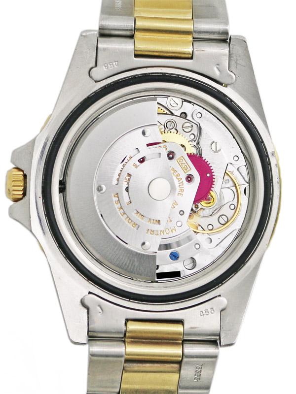 ROLEX SS/18K.オイスターパーペチュアル「GMT−MASTER」
