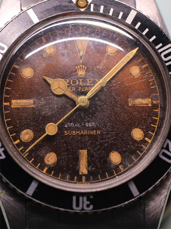 ROLEX SSオイスターパーペチュアル「SUBMARINER」8mmクラウン J.Bondモデル