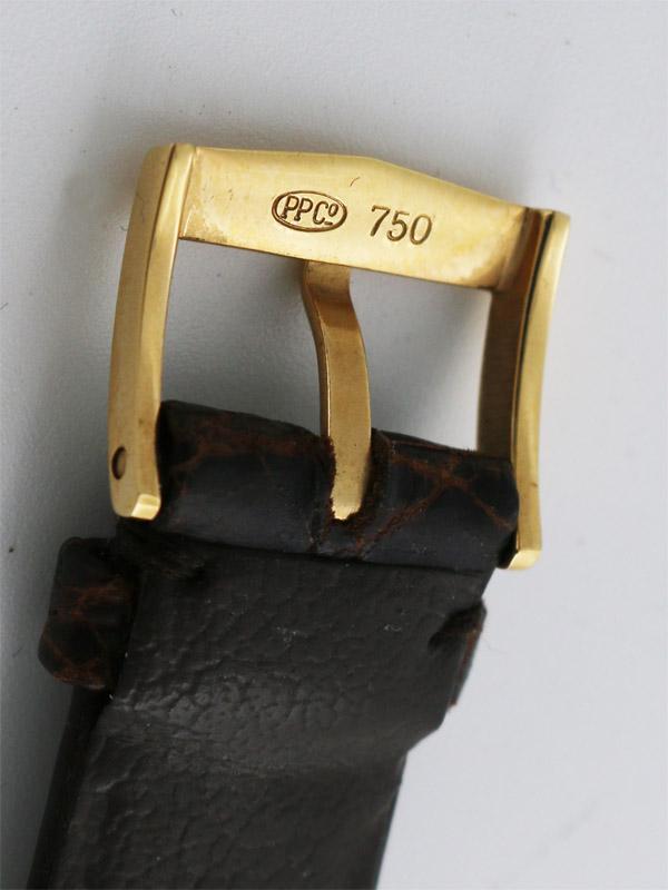 PATEK PHILIPPE 18K.R.G.ラウンドケース「カラトラバ」12ポイントダイヤモンドダイヤル BOX、保証書付き