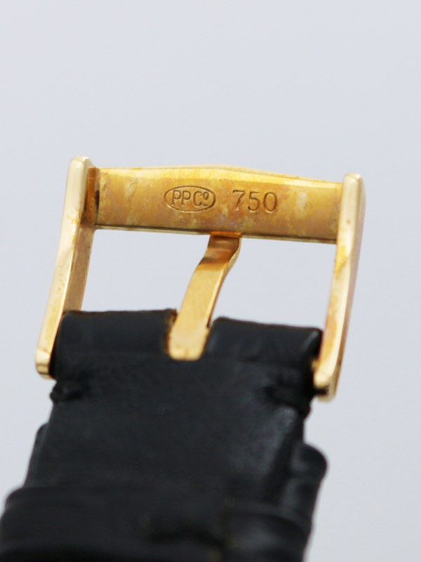 PATEK PHILIPPE 18K.R.G.ラウンドケース「カラトラバ」BOX、保証書付き