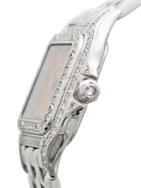 CARTIER 18K.W.G./ダイヤモンド2レーン「パンテール」ブレスレット付き BOX 修理明細書(三越)