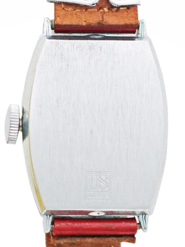 MICKEY MOUSE SSベースメタルトノー型手巻き 1947'S オリジナルボックス 説明書、プライスタグ付
