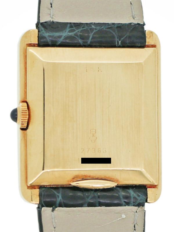 Van Cleef & Arpels/CORUM 18K.レクタングラーケース 男女兼用サイズ 手巻き BOX付き