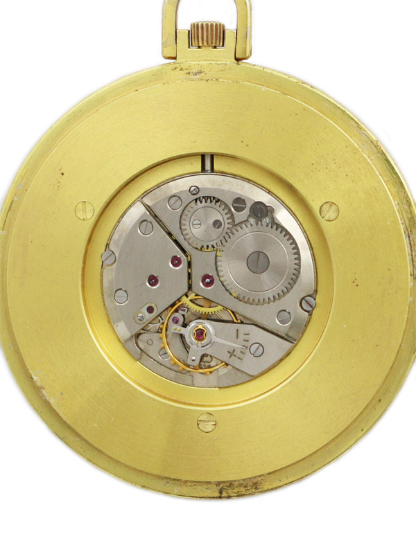 HERMES G.F.ケースワールドタイム懐中時計