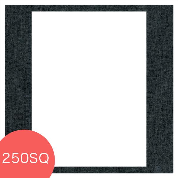 ヒンジ中枠【250SQ用】/六切角/黒(LA)