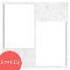 ヒンジ中枠【250SQ用】/2L2穴/白(LA)