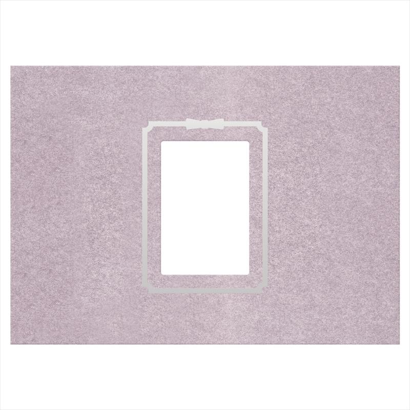 御写真中枠 紫/遺影