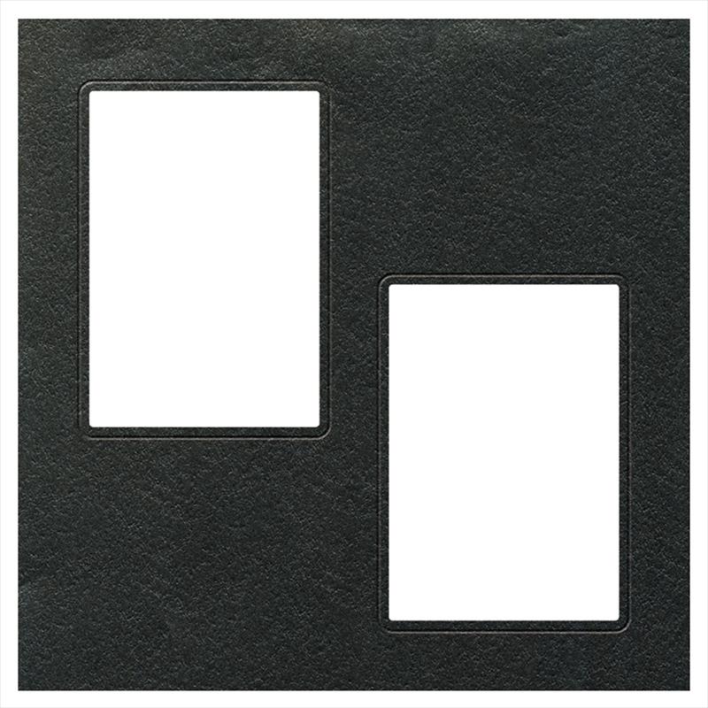 ヒンジアルバムセット【四六兼用】/小花 裏紙5枚・中枠2枚