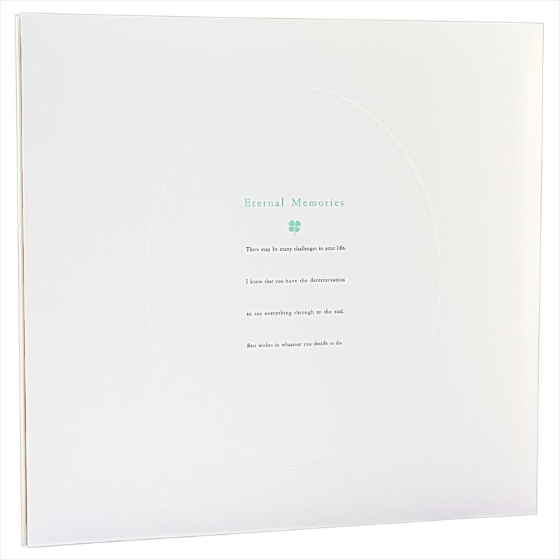 ヒンジアルバムセット【四六兼用】/四葉 裏紙5枚・中枠2枚