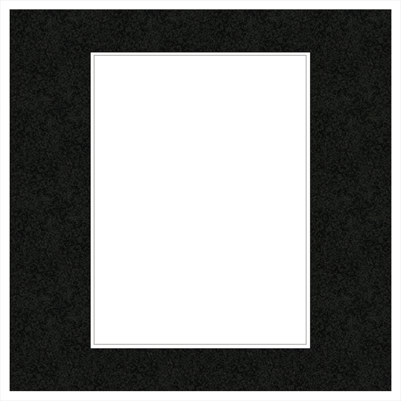 ヒンジアルバムセット【六切用】/小花 裏紙5枚・中枠2枚