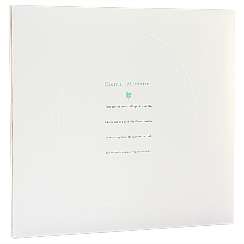 ヒンジアルバムセット【六切用】/四葉裏紙5枚・中枠2枚