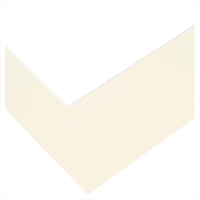 ベーシック台紙セット/アイボリー3面 六2L2六