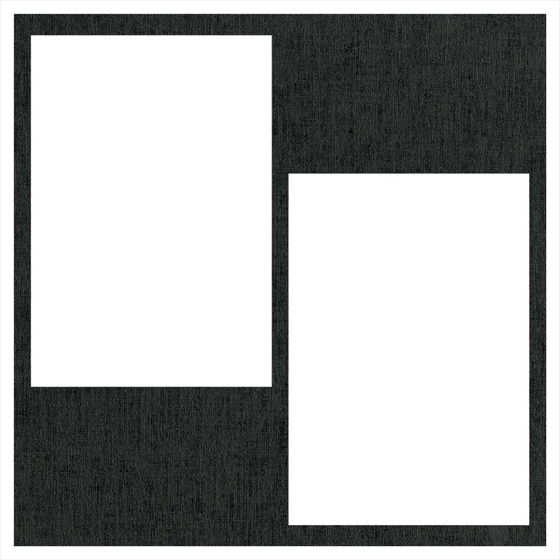ヒンジアルバムセット【250SQ用】/アムール 裏紙3枚・中枠2枚