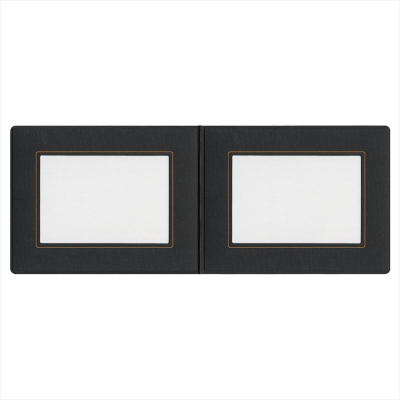 MUSIC台紙 2L×2L/黒