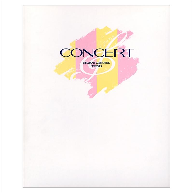 コンサート台紙 横楕円2L×G/PL−2