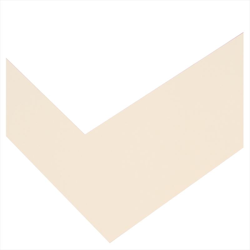 和装用台紙ベージュ2面(角×角)