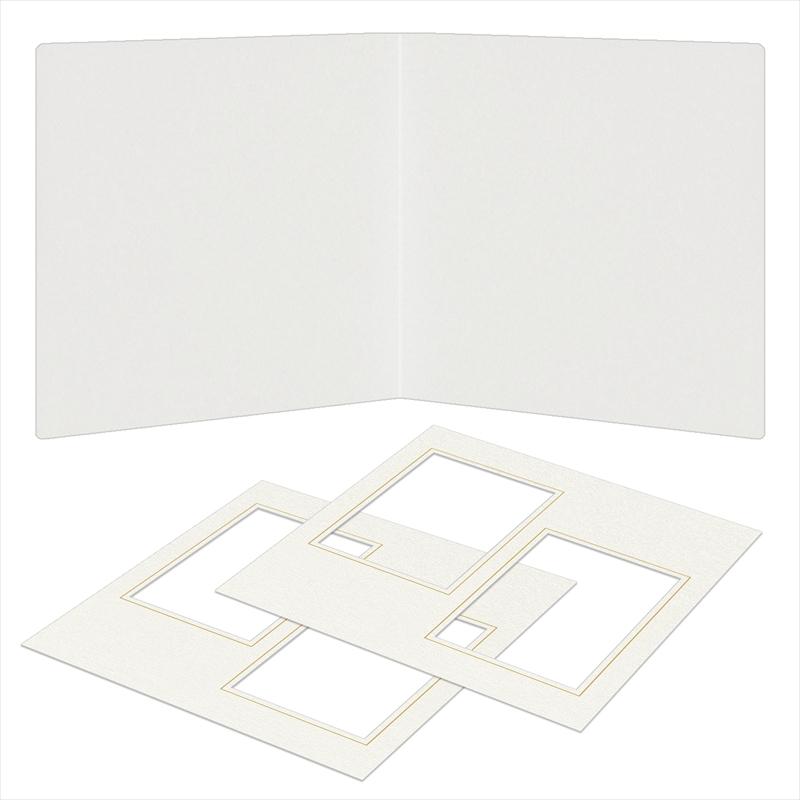 紙台紙SQ 2L/白(L2×2枚)
