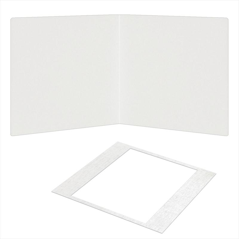 紙台紙SQ 258/白(六切1枚)