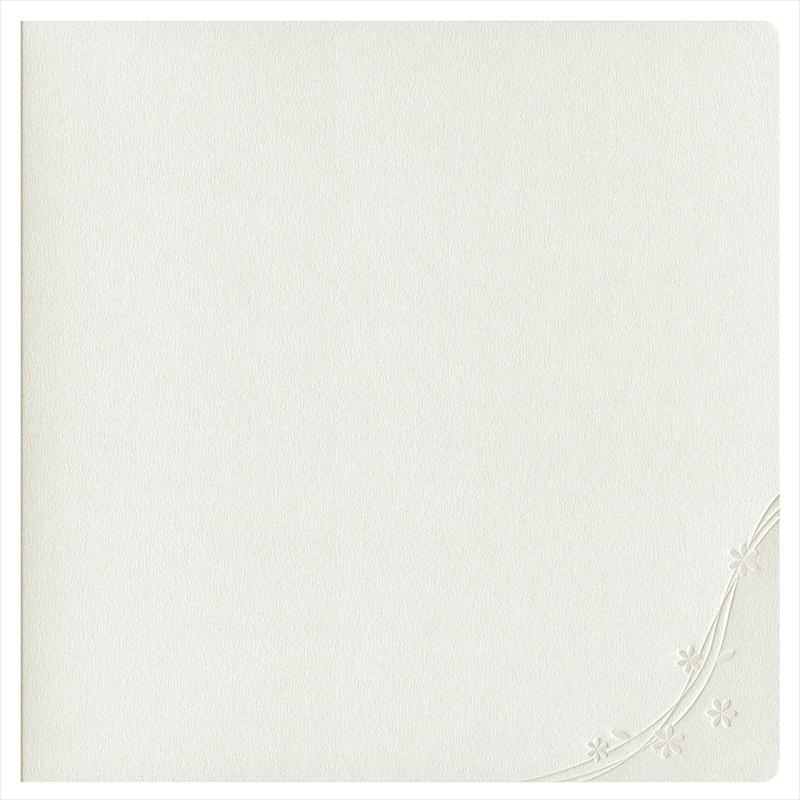 紙台紙SQ258白(六切1枚×2L1穴1枚)