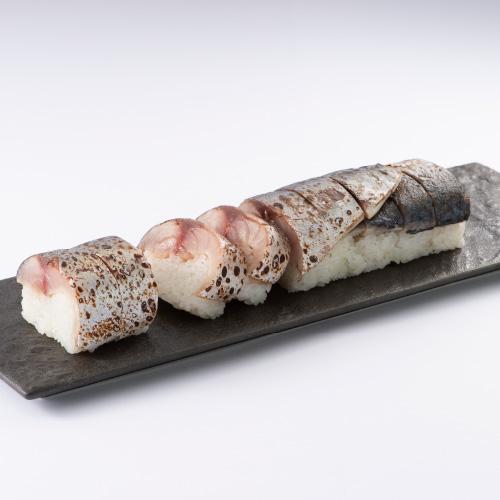 あぶり鬼鯖鮨 (2本以上からご注文承ります)