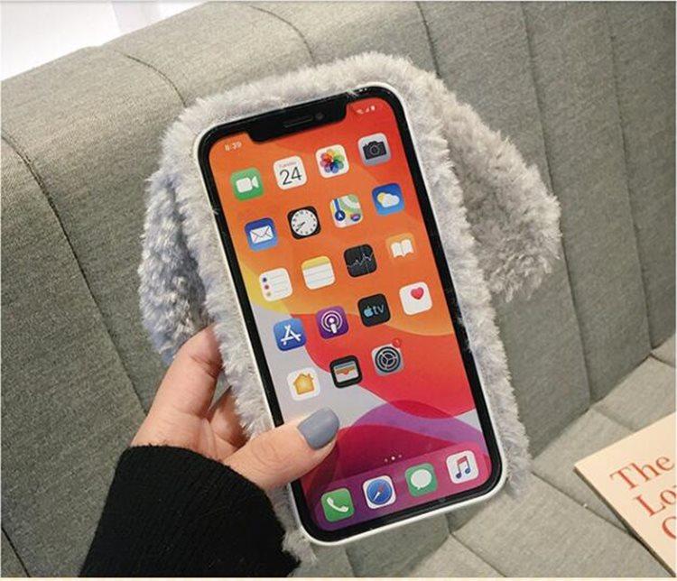送料無料!iPhone 11 Pro Maxケース iPhone11 pro maxカバー アイフォン11 プロ マックス ケース Apple 6.5インチ スマホケース 保護カバー 背面カバー ファー ふわふわ 犬 かわいい