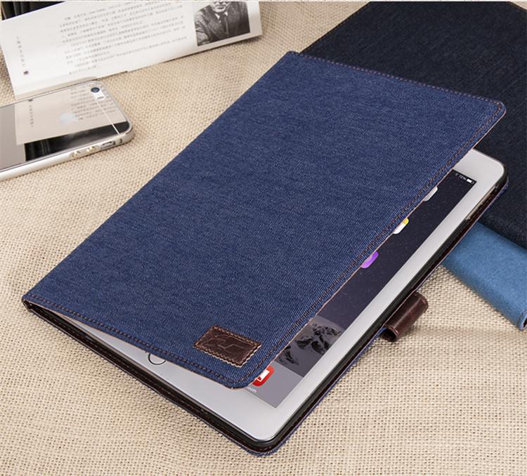 送料無料!新型 9.7インチ ipad 2018 ケース ipad 2017ケース アイパット カバー(9.7インチ) タブレットPC 手帳型 スリープ機能付きカード収納 デニム ジーンズ型
