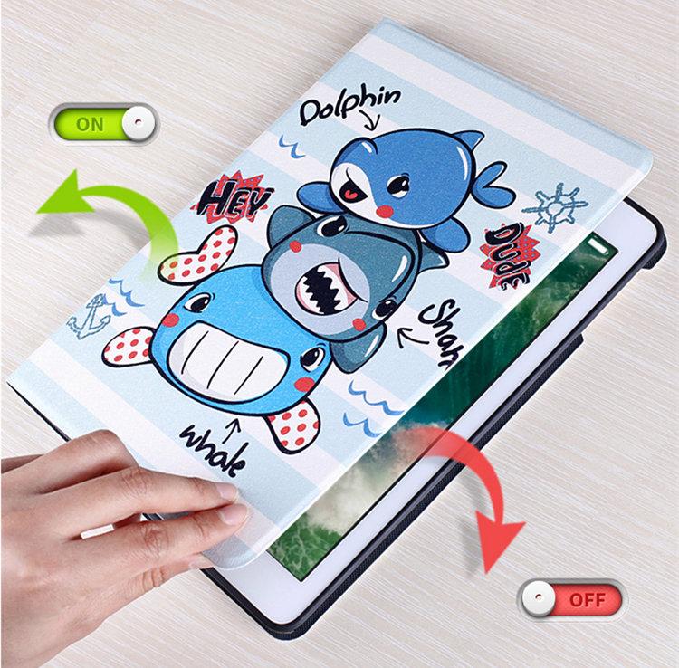 送料無料 iPad Air3 ケース iPad Air 10.5インチ 2019 ケース iPad Air 10.5インチ 第3世代 ケース アイパッド カバー タブレットPC 手帳型 段階調整可能 スリープ機能付き ソフトケース かわいい