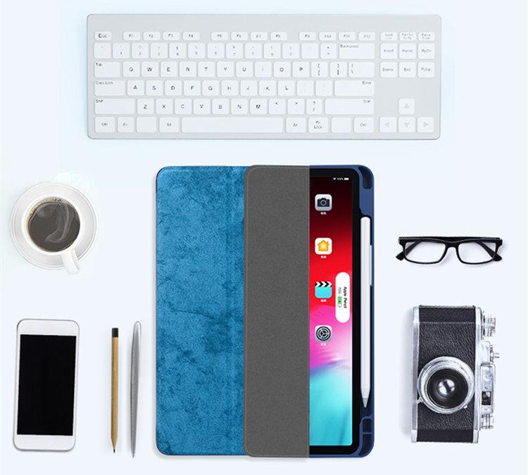 送料無料!iPad Pro 11インチ アイパット カバー(11インチ) タブレットPC 手帳型 軽量 極薄 スタンド機能付 オートスリープ機能付き ソフトケース タッチペンホルダ付き