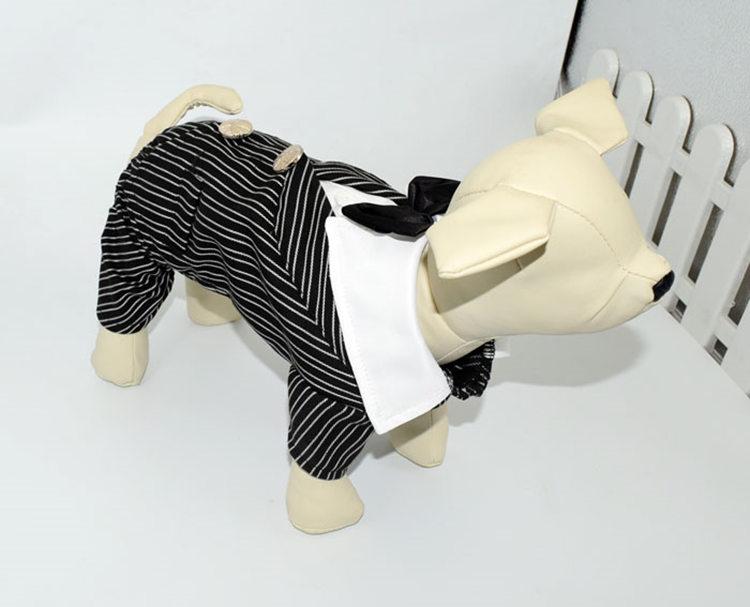 犬の服 つなぎ ドッグウエア ペット用品 ペット服 ペットグッズ カッコイイ スーツ姿 礼服