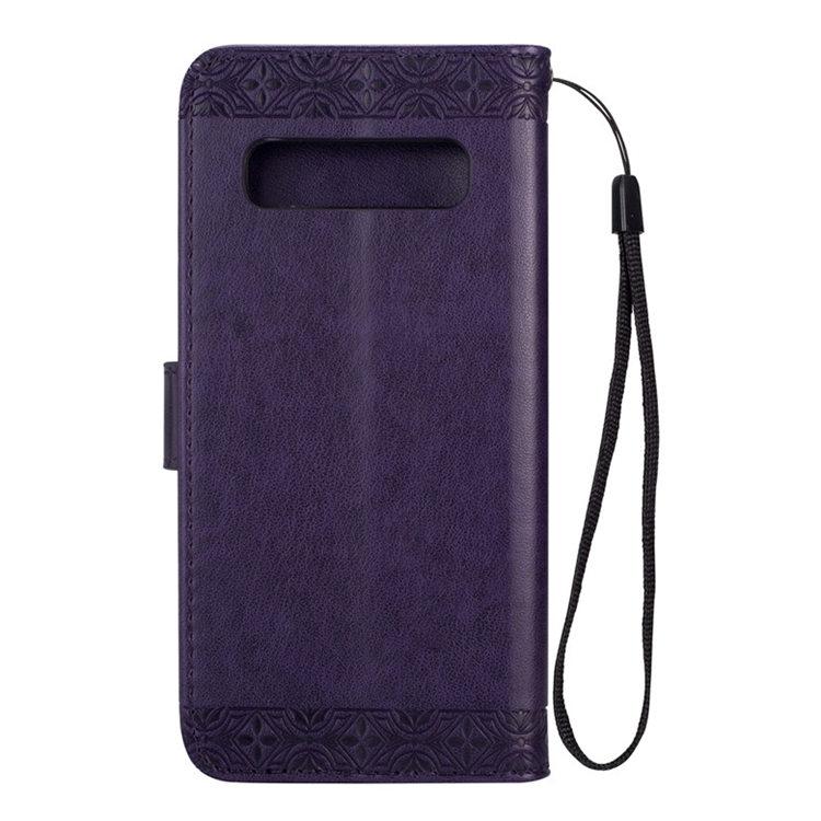 送料無料 Samsung Galaxy S10 ケース ギャラクシー s10 ケース サンスム 6.1インチ SCV41 SC-03L docomo au サンスム スマホケース 手帳型 カード収納 色絵 ストラップ付き