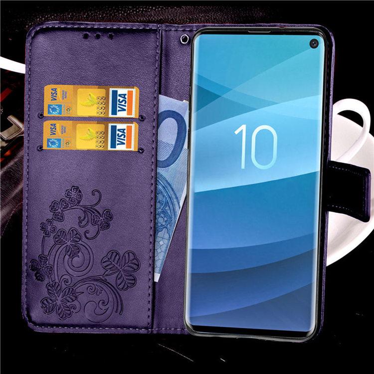 送料無料 Samsung Galaxy S10 ケース ギャラクシー s10 ケース サンスム 6.1インチ SCV41 SC-03L docomo au スマホケース 手帳型 カード収納 ストラップ付き はな