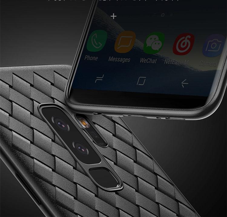 Samsung Galaxy S9Samsung Galaxy S9 ケース ギャラクシー S9 ケース SC-02K/SCV38 docomo au サンスム スマホケース 背面カバー ソフトケース 編み柄