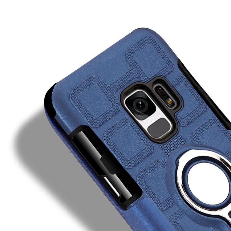 Samsung Galaxy S9 ケース ギャラクシー S9 ケース SC-02K/SCV38 docomo au サンスム スマホケース ソフトケース 鉄シート内蔵 リングスタンドあり 便利 個性的