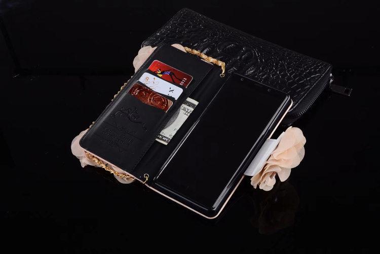 送料無料!Galaxy Note8 ケース ギャラクシーノートエイト ケース SC-01K/SCV37 docomo au サンスム スマホケース手帳型 カード収納あり PUレザー はないっぱい  上品 チェーン付き パール