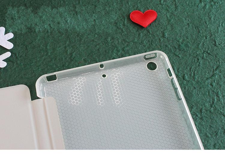 送料無料!iPad Pro 11インチ アイパット カバー(11インチ) タブレットPC スタンドタイプ 手帳型 透明ケース ソフトケース ちょうかわいい ぶた