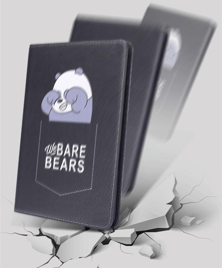 送料無料 iPad Air3 ケース iPad Air 10.5インチ 2019 ケース iPad Air 10.5インチ 第3世代 ケース アイパッド カバー タブレットPC 手帳型 ソフトケース オートスリープ機能付き 段階調整 BEARS かわいい