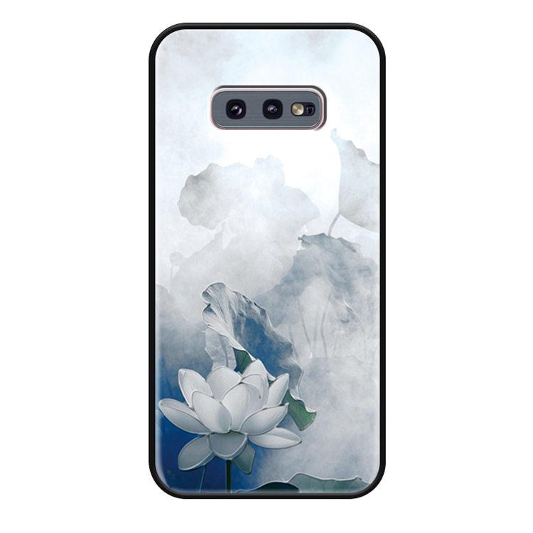 送料無料 Samsung Galaxy S10 ケース ギャラクシー s10 ケース サンスム 6.1インチ SCV41 SC-03L docomo au 背面ケース シリコン 耐衝撃 tpu ソフト おしゃれ はな